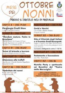 Prevalle - Ottobre mese dei nonni @ Circolo Acli di Prevalle | Bedizzole | Lombardia | Italia