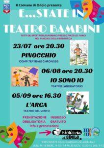Odolo - E..state in teatro per bambini @ Piazzale biblioteca Odolo