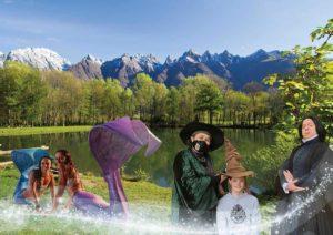 Ornavasso - Festa Fantasy, Harry Potter, sirene, fate e Lumi sul Lago @ Lago delle rose di Ornavasso