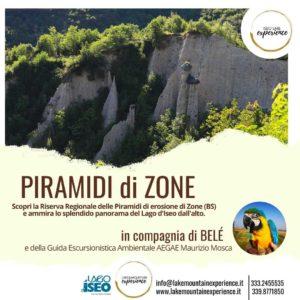 Zone - Escursione alla scoperta delle piramidi di Zone @ ritrovo a Cislano fraz. di Zone