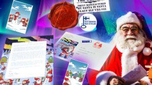 Lettera da Babbo Natale, arriva dalla Finlandia @ online