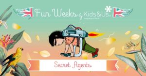 Palazzolo - Funday in inglese: diventa un secret agent @ Kids&Us Franciacorta