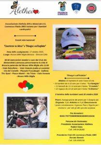 Brescia - Cuoricini in moto e Disegni sull'asfalto @ Museo Mille Miglia Brescia