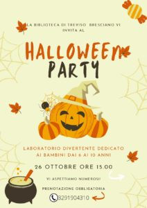 Treviso Bresciano - Halloween party @ Biblioteca di Treviso Bresciano