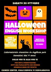 Verolanuova - Halloween English Workshop @ Chinesi Center
